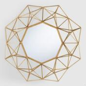 Gold Geometric Danyel Mirror