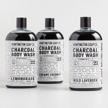 Huntington Charcoal Body Wash Collection