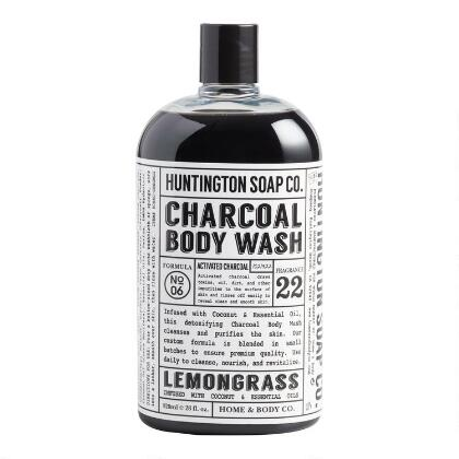 Huntington Lemongrass Charcoal Body Wash