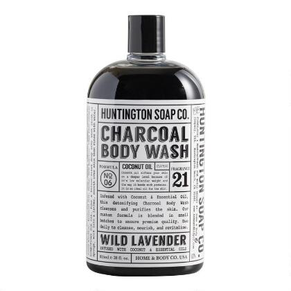 Huntington Lavender Charcoal Body Wash