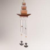 Bamboo Boat Wind Chimes