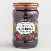 Mackays Cherries and Berries Preserve Set of 6