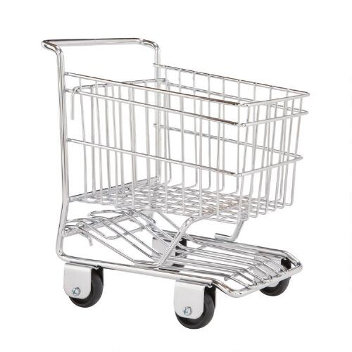 Chrome Shopping Cart