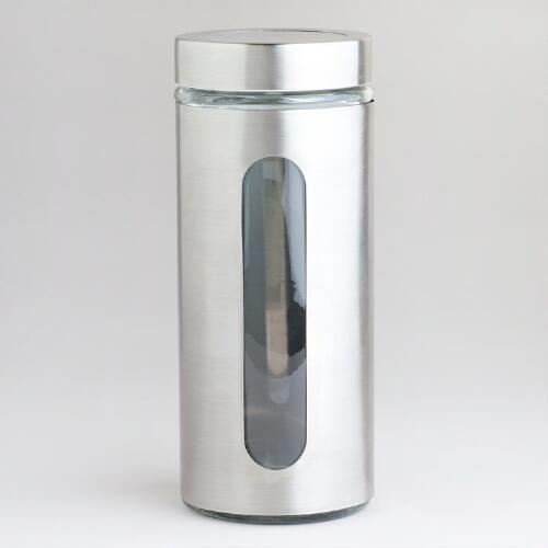 67-oz. Round Glass Storage Jar