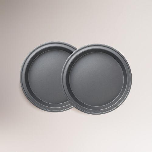 Metal Nonstick Round 9-inch Cake Pan, Set of 2