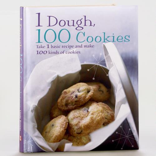 1 Dough 100 Cookies by Linda Doeser