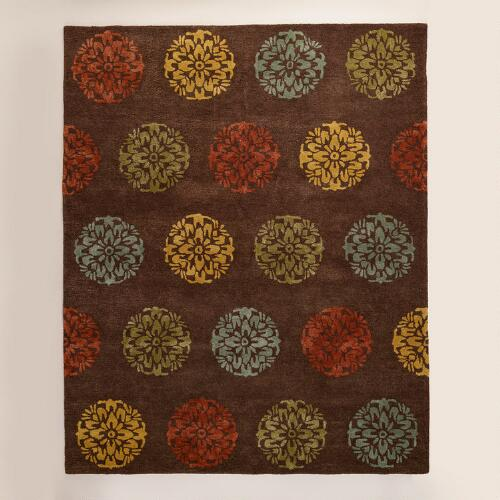 Jala Medallion Tufted Wool Rug