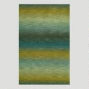 Ombre Stripes Ocean Wool Rug