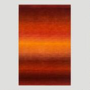 Sunrise Ombre Stripe Wool Rug
