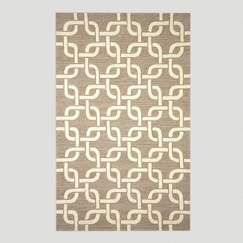 Neutral Chains Indoor-Outdoor Rug
