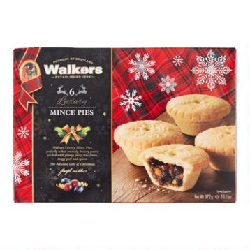 Walkers Luxury Mincemeat Tarts, Set of 6 Boxes