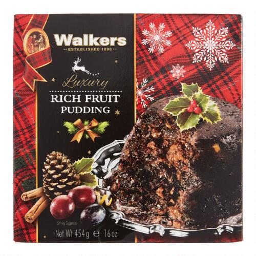 Walkers Rich Fruit Plum Pudding