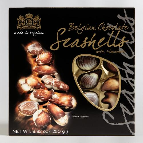 GBS Chocolate Seashells, Set of 2