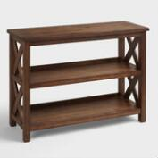 Verona Two-Shelf Bookshelf