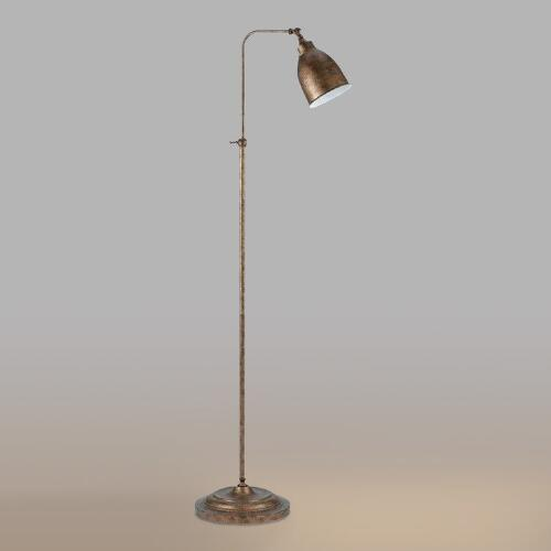 Rust Pharmacy Floor Lamp