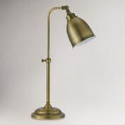 Antique Bronze Pharmacy Table Lamp