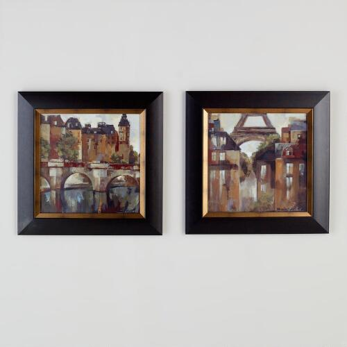"Silvia Vassileva ""Paris, Late Summer"", Set of 2"