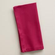 Pink Sangria Buffet Napkins, Set of 6