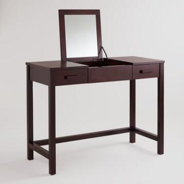 Dark Mahogany Chase Vanity Table