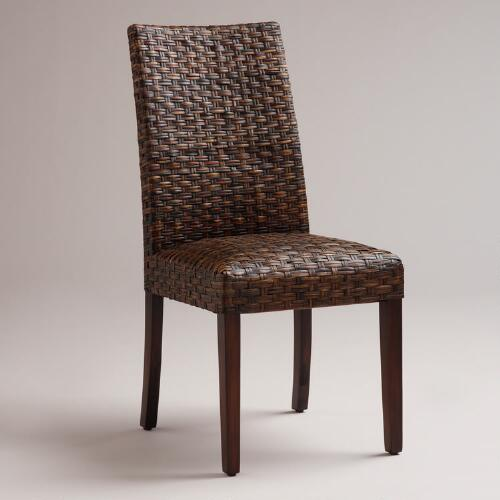 Malia Woven Chairs, Set of 2