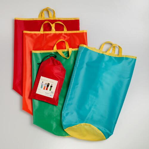 Hopping Sacks, Set of 4