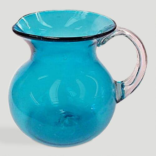 Novica Aqua Halo Pitcher