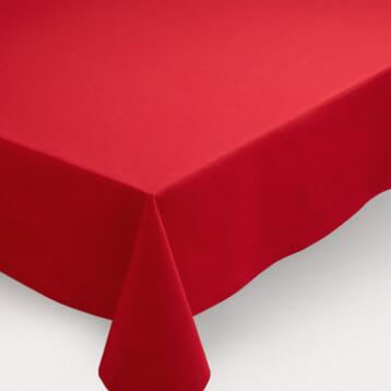 Red Buffet Tablecloth