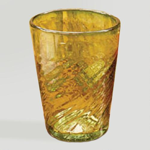 Novica Contoured Drinking Glasses, Set of 6