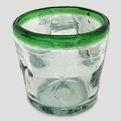 Novica Lime Freeze Juice Glasses, Set of 6