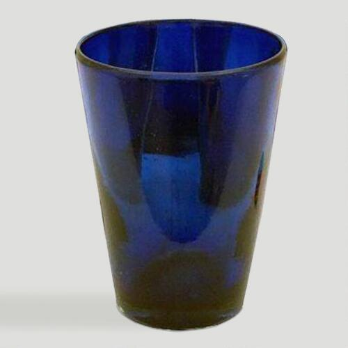 Novica Cobalt Angles Drinking Glasses, Set of 6