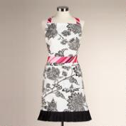 Black and White Hana Apron