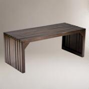 Alexander Slat Table Bench