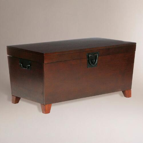 Espresso Trunk Coffee Table