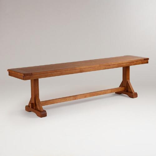Antique Honey Verona Bench