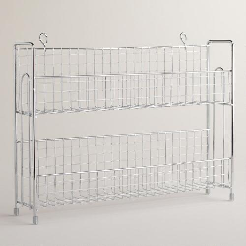 Chrome Wire Spice Rack
