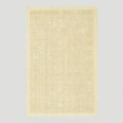 Solid Jute Pile Rug, Cream