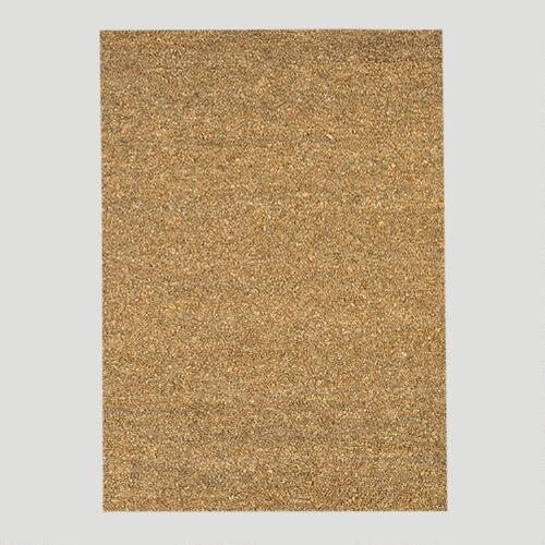 Jute & Leather Shag Rug, Camel