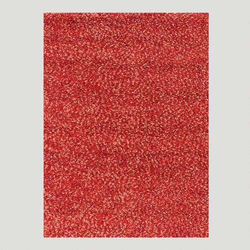 Chunky Wool & Cotton Rug, Warm