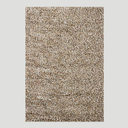 Chunky Wool & Cotton Rug, Grey
