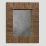 Water Hyacinth Rectangular Mirror
