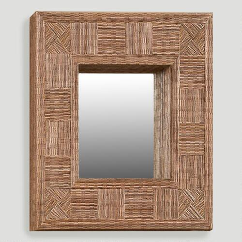Mosaic Coco Stick Rectangular Mirror