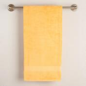 Yellow Cotton Bath Towel