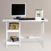 White Finish Langston Desk