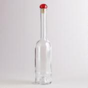 Clear Glass Limoncello Bottle