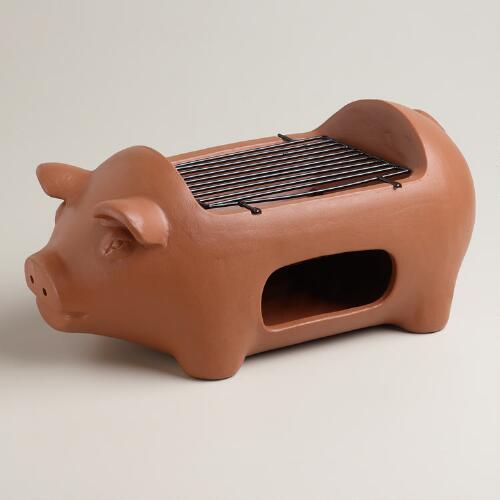 Pig Terracotta Grill