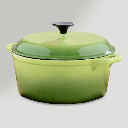 Green Round Dutch Oven