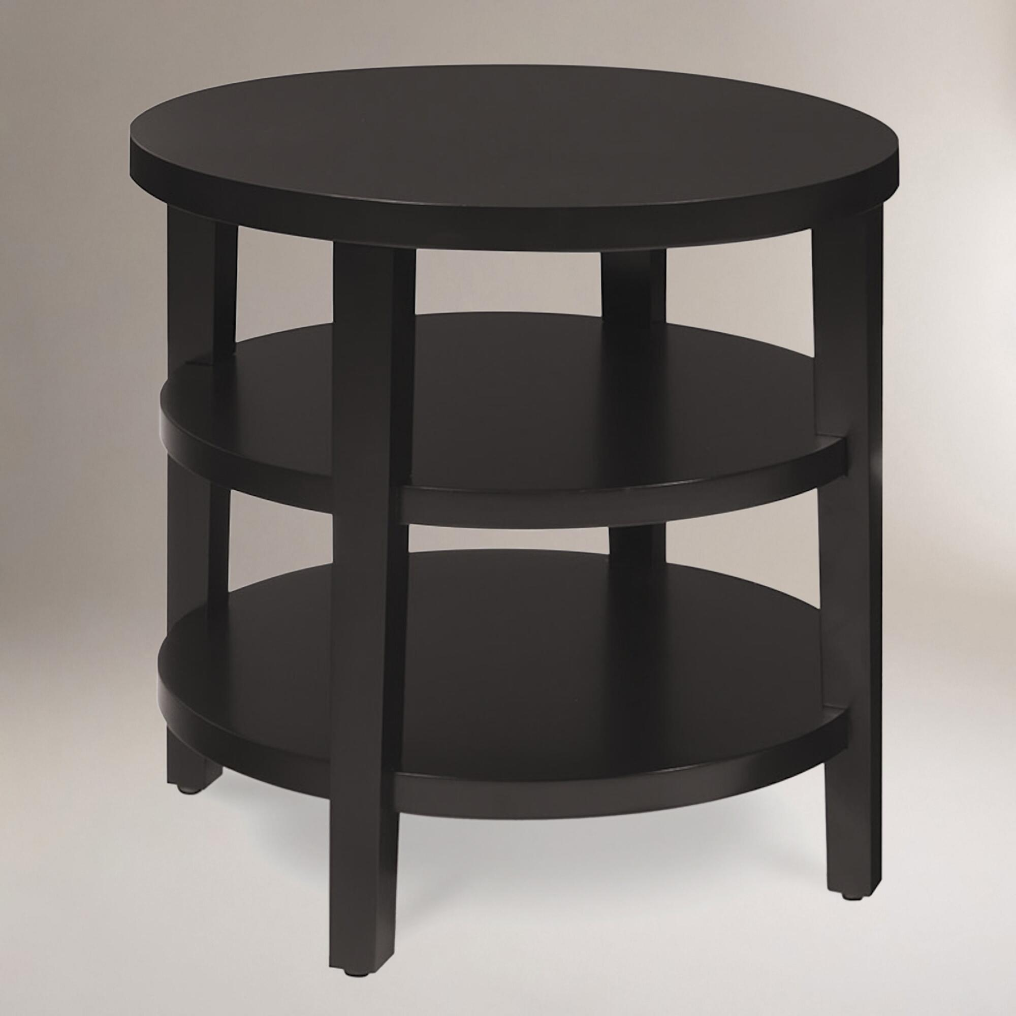 Round Porter End Table  World Market