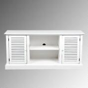 White Plantation Storage Cabinet