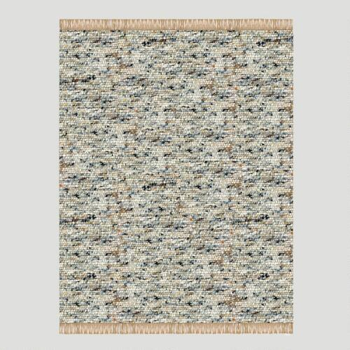 Verginia Berber Rug, Dark Natural