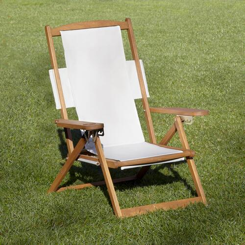 Natural Five-Position Chair Canvas